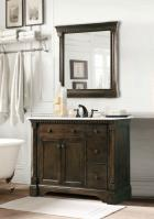 36 Inch Single Sink Bathroom Vanity in Antique Coffee