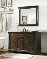 48 Inch Single Sink Bathroom Vanity in Antique Coffee