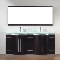 Art Bathe 72 Inch Double Sink Bathroom Vanity