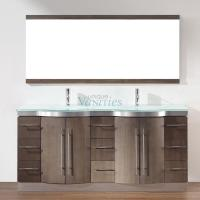 Art Bathe 72 Inch Double Sink Bathroom Vanity