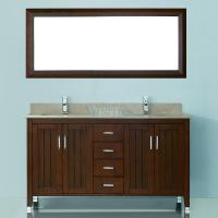 Art Bathe 60 Inch Double Sink Bathroom Vanity