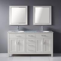 65 inch double sink bath vanity with jade marble top uvlfwb19653b65