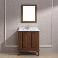 30 Inch Single Sink Bathroom Vanity with Choice of Top in Classic Cherry