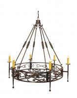 6 Light Segovia Chandelier